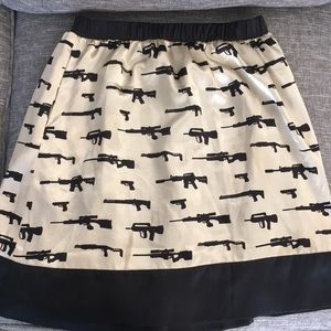 Dresses & Skirts - Silk gun skirt